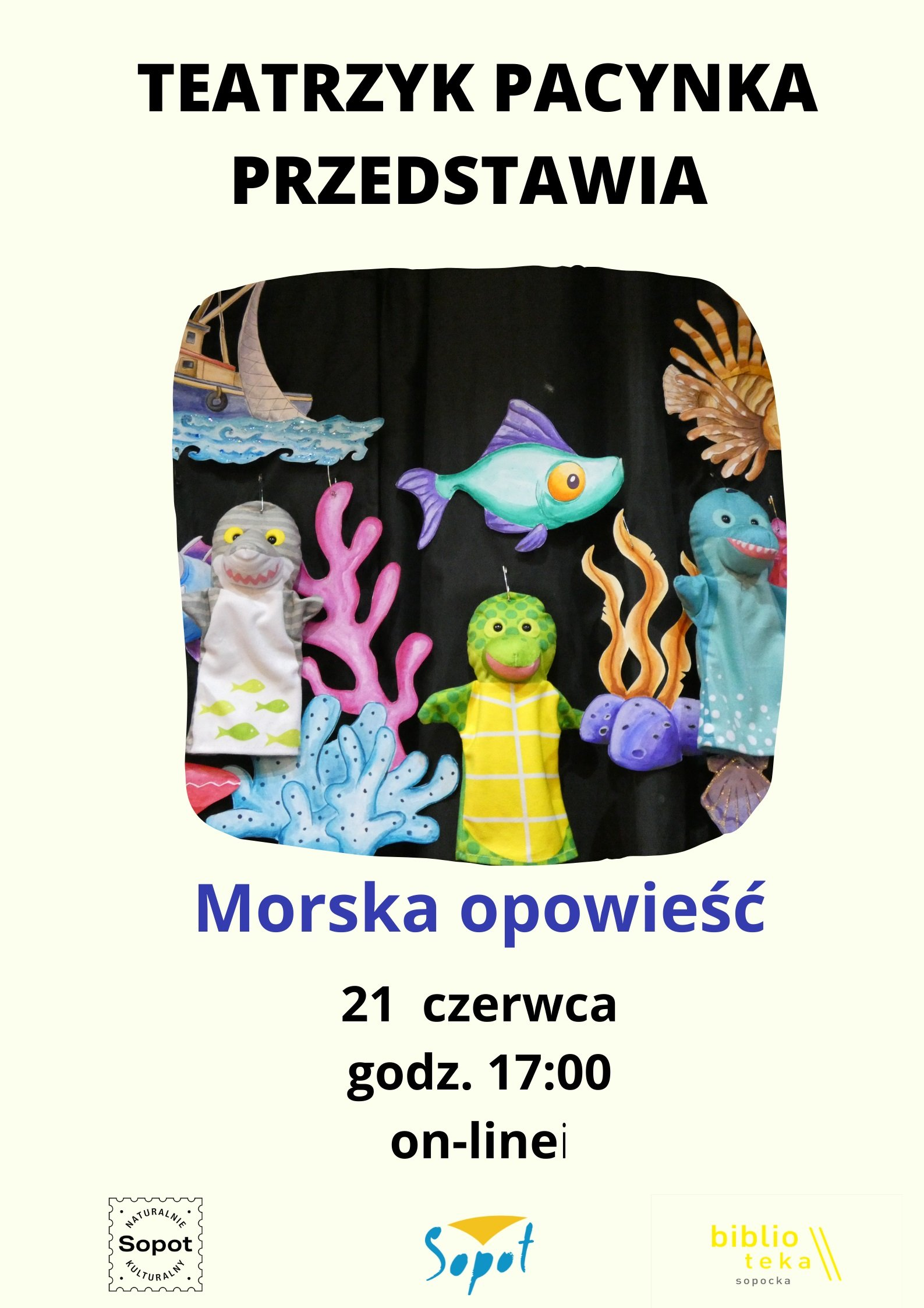 Premiera spektaklu Teatrzyku Pacynka online: Morska opowieść