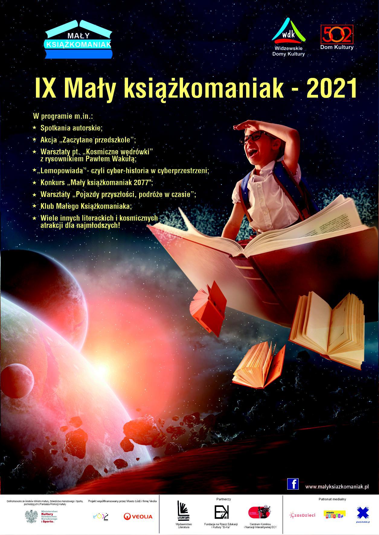 IX Mały książkomaniak - bezpłatne wydarzenia dla dzieci