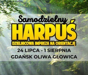 Samodzielny Harpuś – Dzielnicowa impreza na orientację: Oliwa Głowica