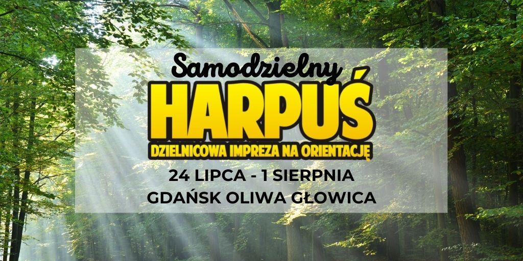 Samodzielny Harpuś - Dzielnicowa impreza na orientację: Oliwa Głowica