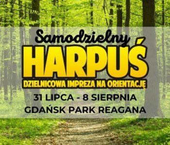 Samodzielny Harpuś – Dzielnicowa impreza na orientację: Park Reagana