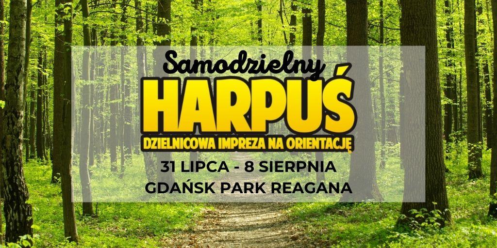 Samodzielny Harpuś - Dzielnicowa impreza na orientację: Park Reagana