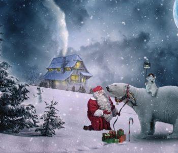 Święty Mikołaj na świecie