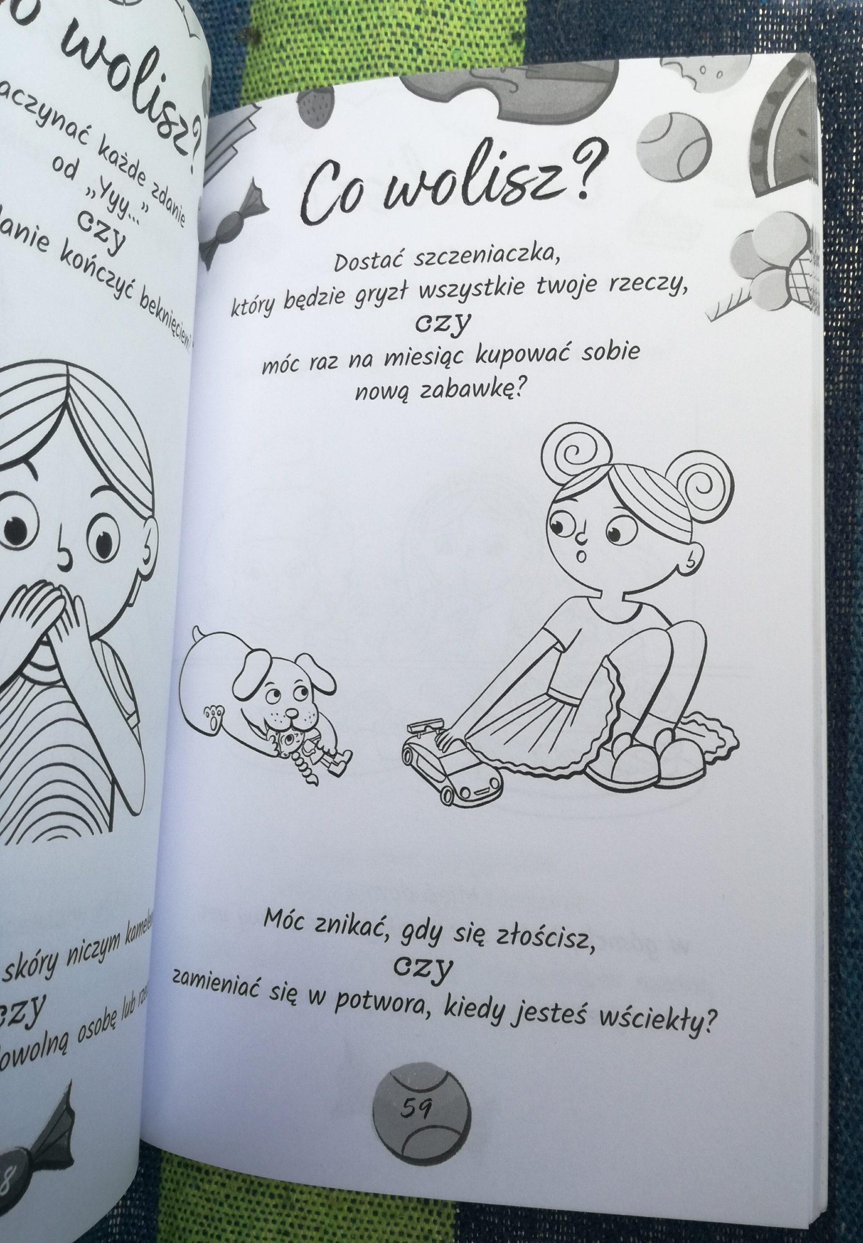 Co wolisz? – recenzja książki dla dzieci