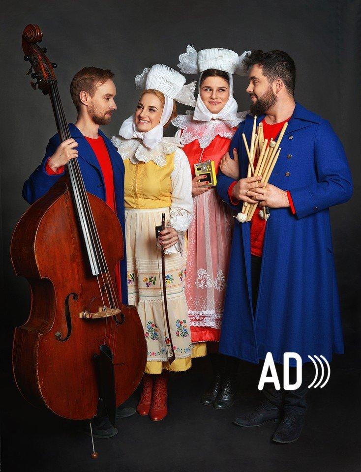 Muzyczne zabawy z Dagadaną – warsztaty dla dzieci