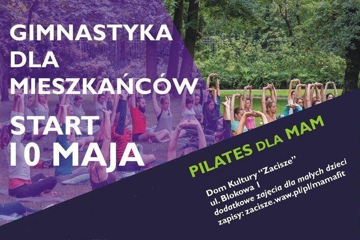Pilates dla mam w DK Zacisze
