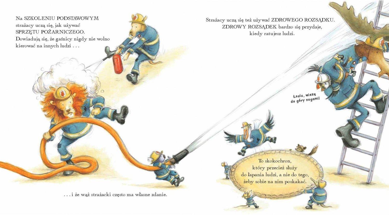 Dzień w Zwierzaczkowie. Strażacy przy pracy - wznowienie książki