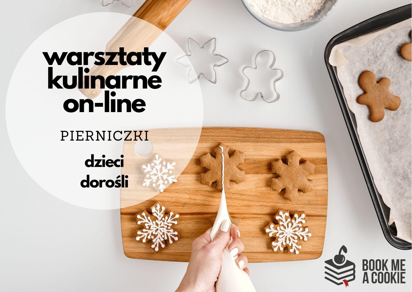 Warsztaty kulinarne on-line: pierniczki