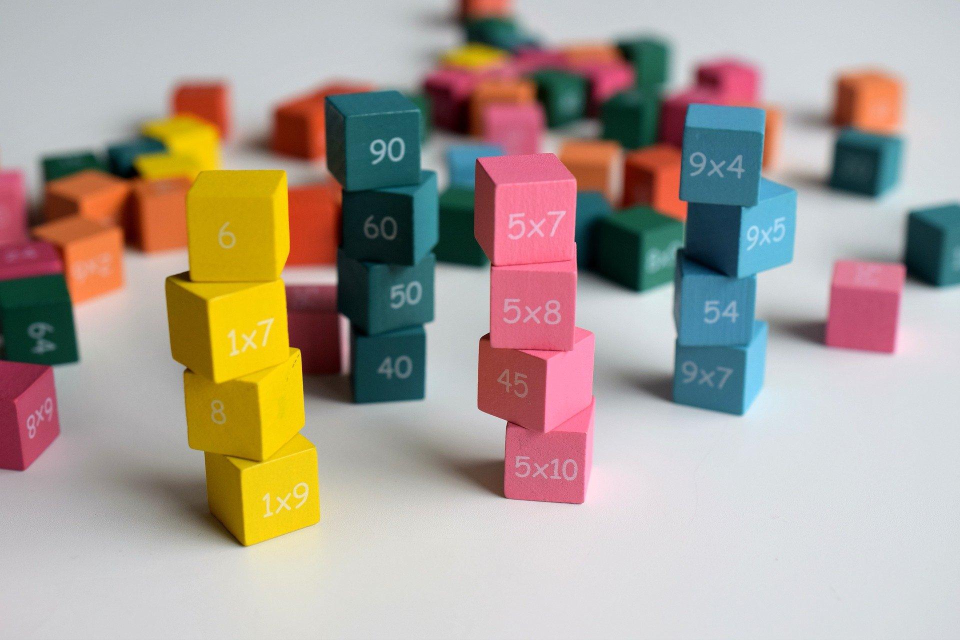 dzielenie działania quiz dla dzieci matematyczny test wiedzy matematyka nauka działania proste łatwe liczby cyfry