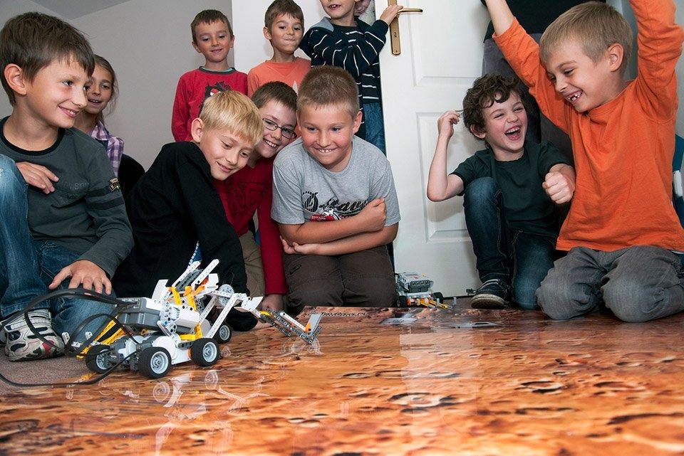 Półkolonie Warszawa Mokotów: Minecraft: Wyzwania z Robotami LEGOEV3