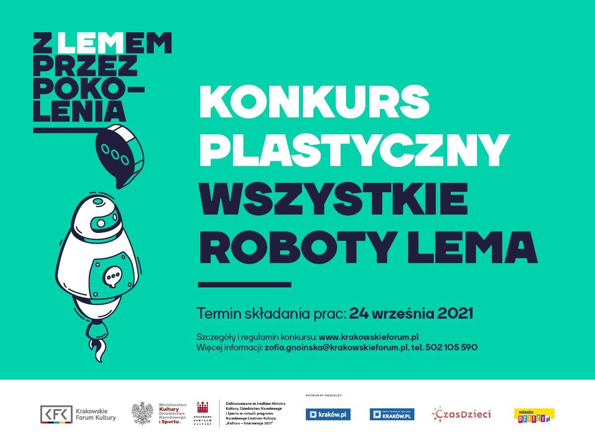 Konkurs plastyczny realizowany w ramach projektu Z Lemem przez pokolenia