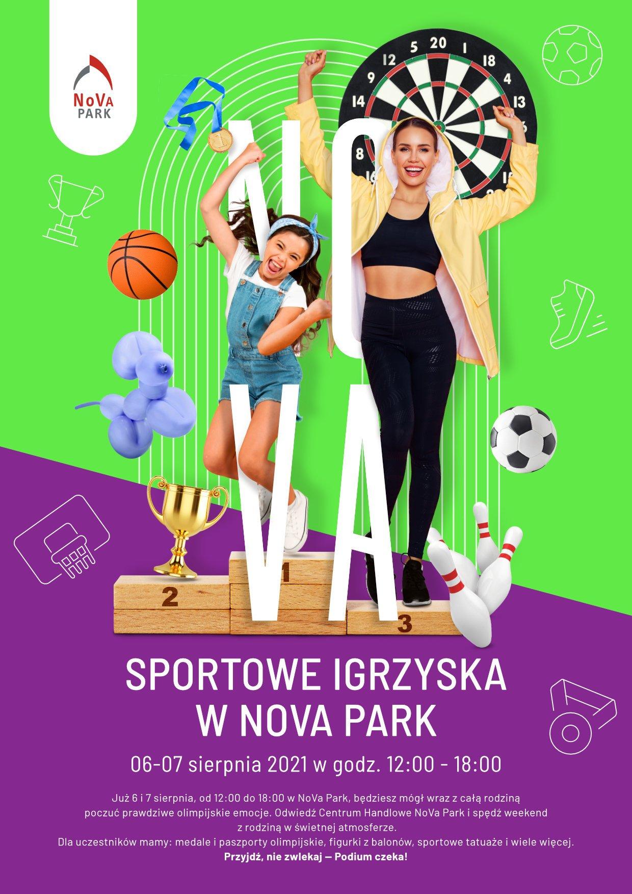 Sportowe igrzyska w NoVa Park
