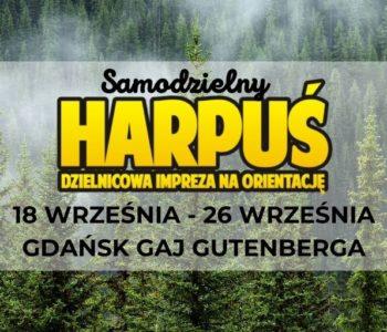 Samodzielny Harpuś - Dzielnicowa impreza na orientację: Gaj Gutenberga