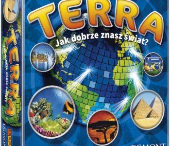 TERRA. Jak dobrze znasz świat? Imprezowo-familijna gra planszowa