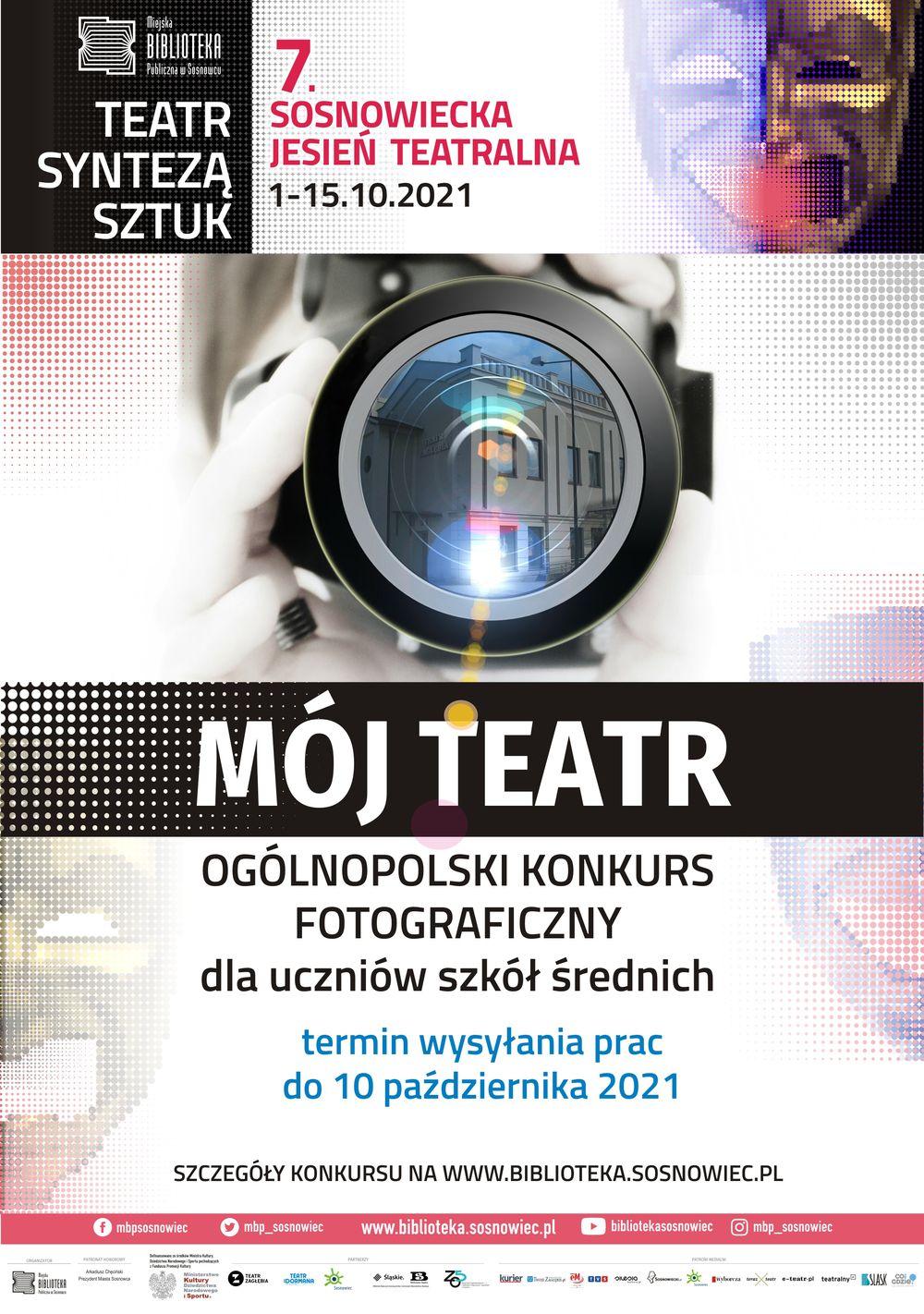 Mój Teatr - konkurs fotograficzny dla młodzieży