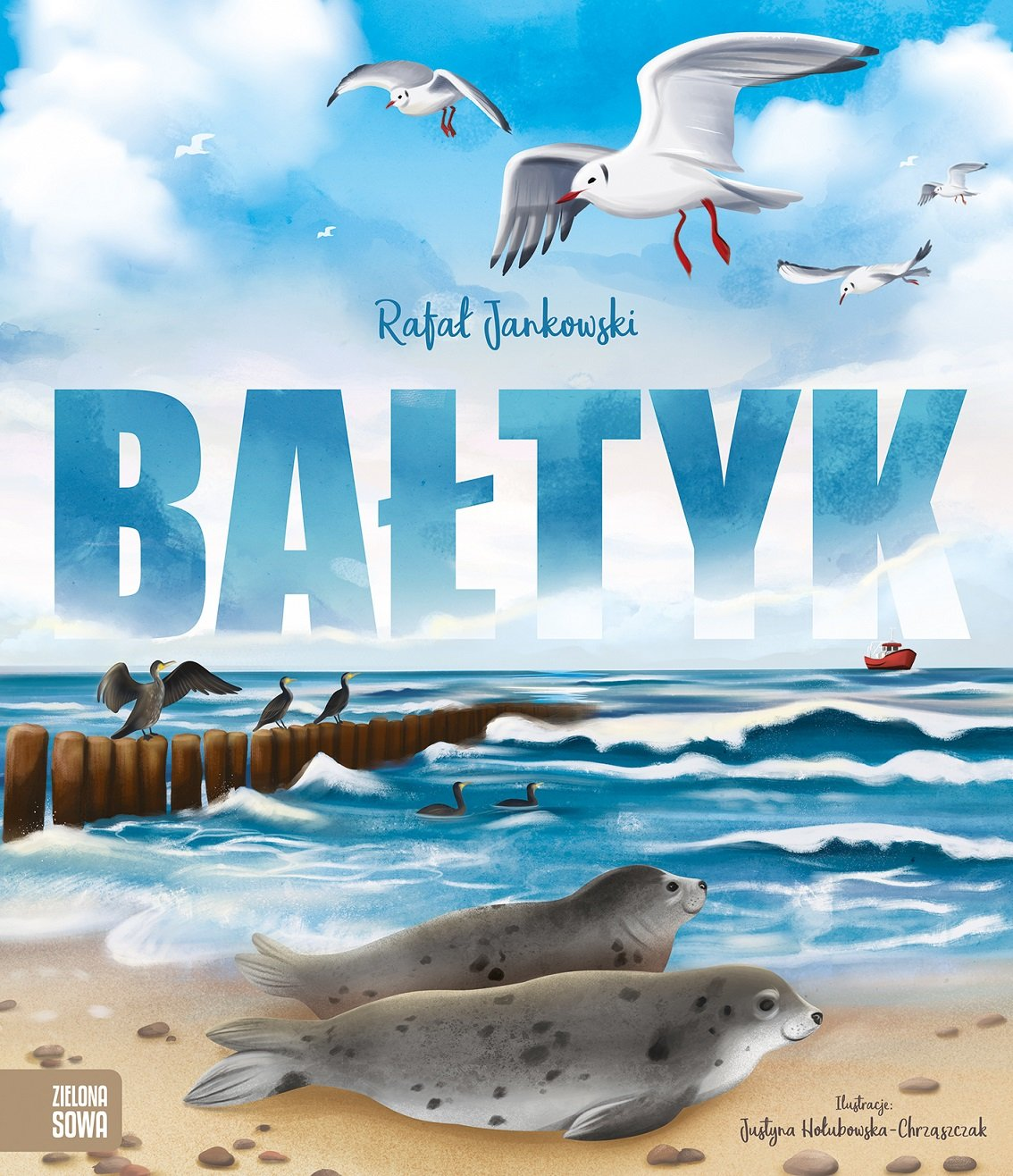 Bałtyk - fascynująca książka dla dzieci