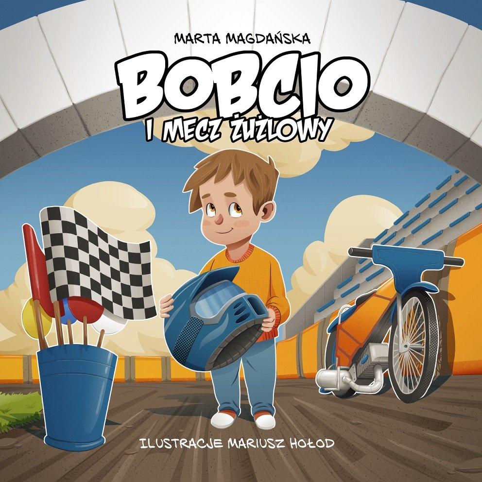 Premiera książki: Bobcio i mecz żużlowy