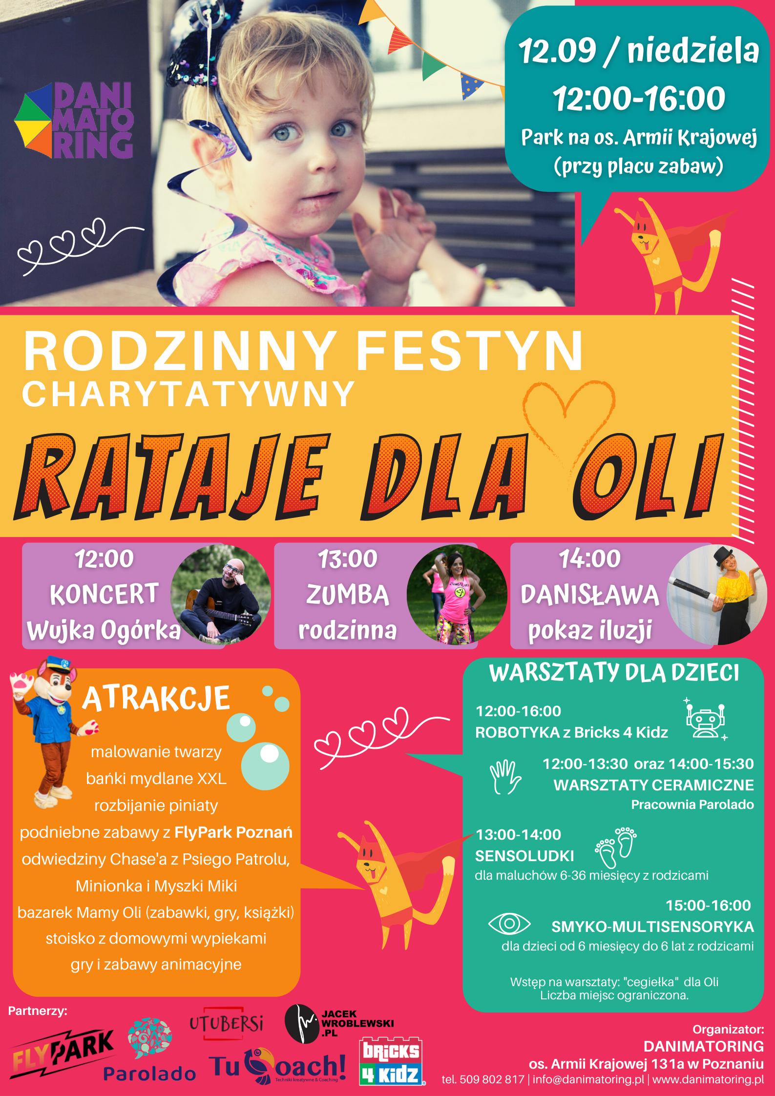 Rodzinny Festyn Charytatywny RATAJE DLA OLI