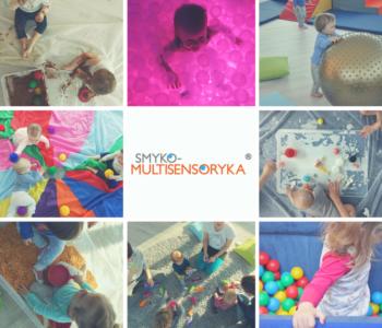 Smyko-multisensoryka. Zajęcia wspierające rozwój małych dzieci
