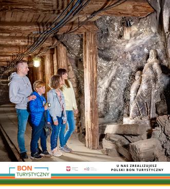 Zrealizuj Polski Bon Turystyczny w Kopalni Soli Bochnia