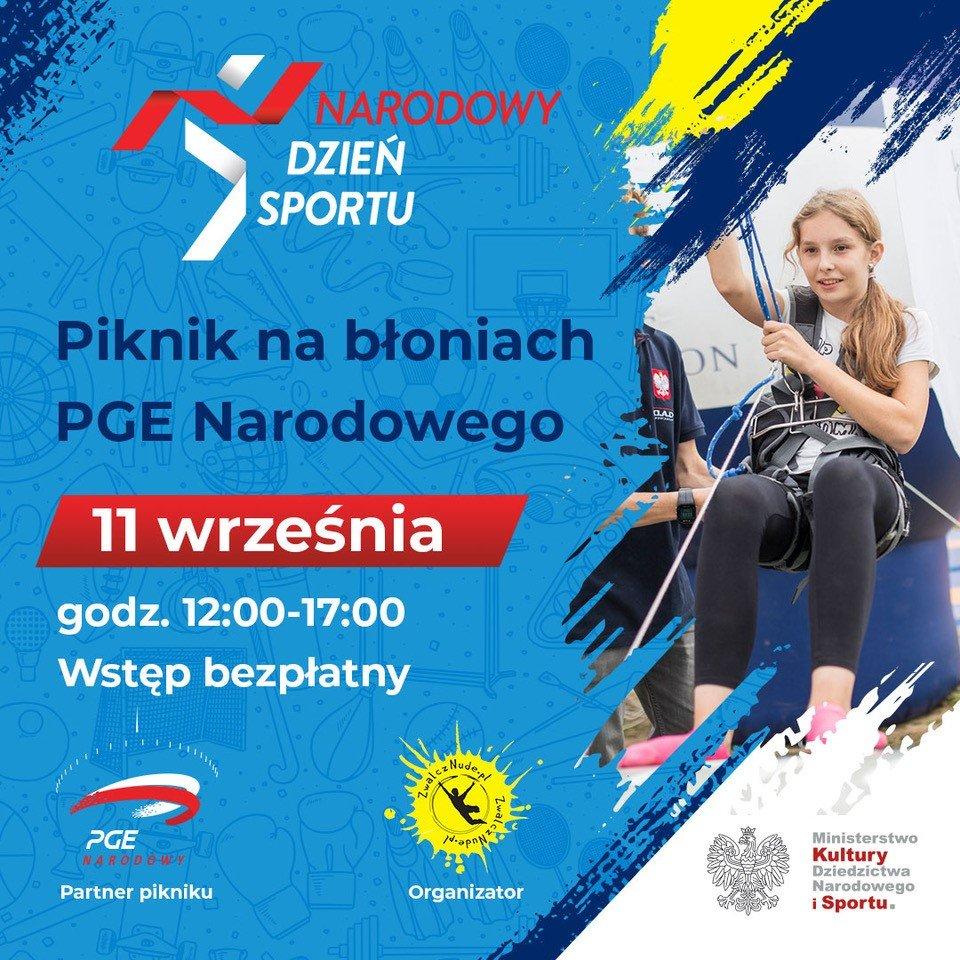 Narodowy Dzień Sportu 2021 - piknik na błoniach PGE Narodowego