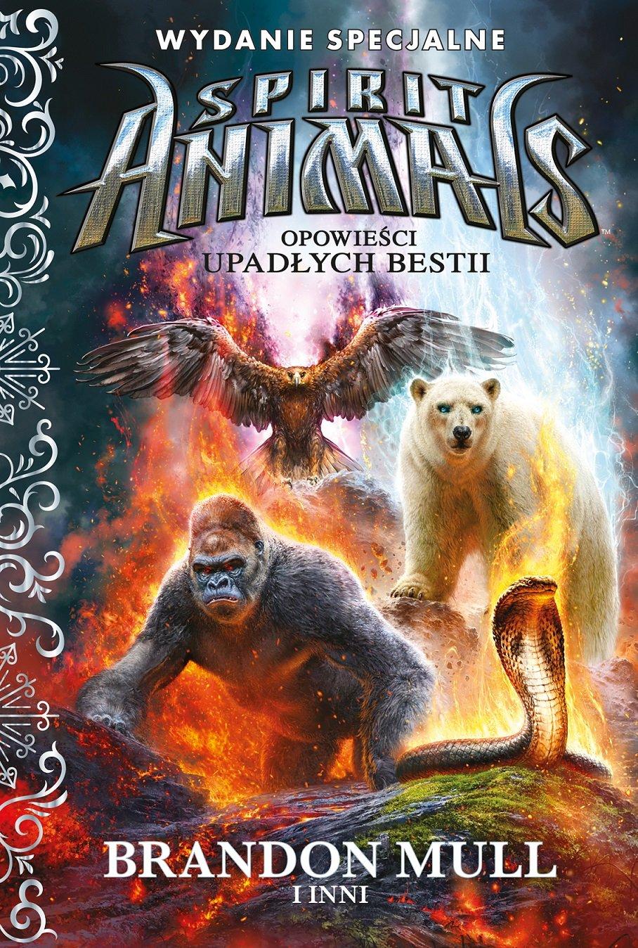 Spirit Animals. Opowieści Upadłych Bestii - książka