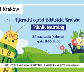 Piknik teatralny Biblioteki Kraków