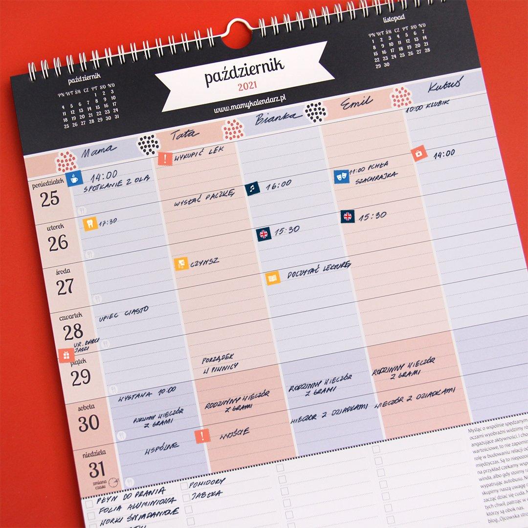 podpisany MaMy kalendarz