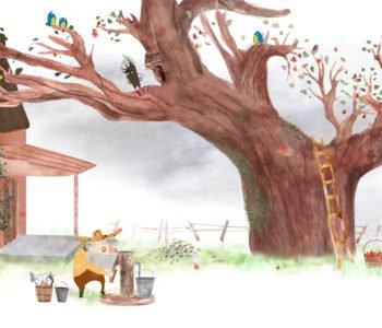 Przygody dzikich dzieci. Strażnik jabłoni | Film i warsztaty | 4+