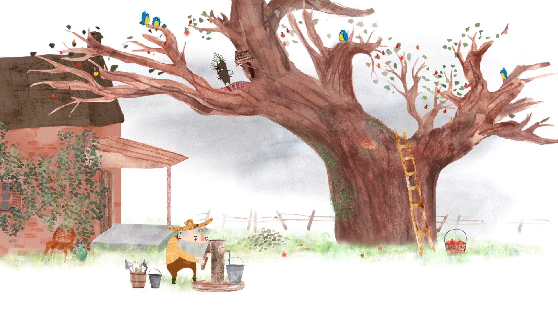 Przygody dzikich dzieci. Strażnik jabłoni   Film i warsztaty   4+