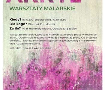 Warsztaty malarskie: Akryl