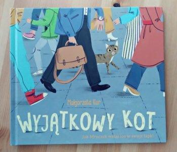 Wyjątkowy kot recenzja książki dla dzieci