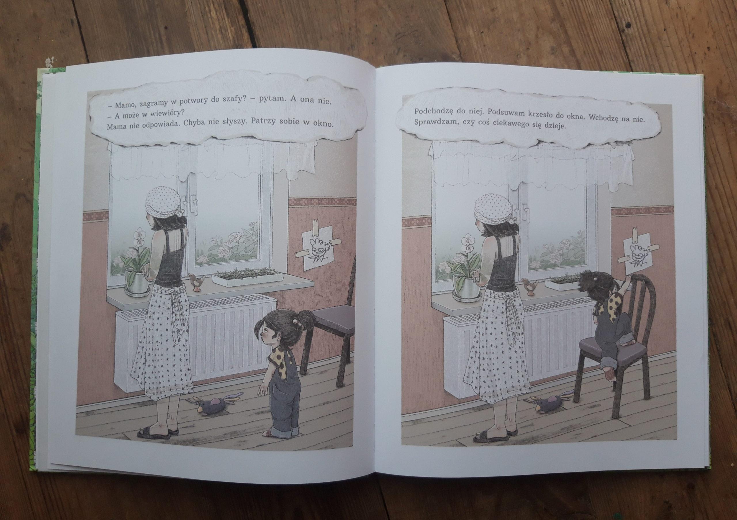 Zniknięcie książka dla dzieci o żałobie