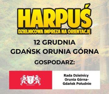 Harpuś – z mapą na Orunię Górną!