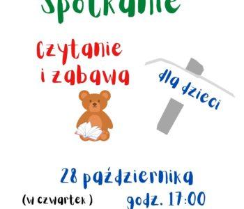 Biblioteka Sopocka dla dzieci: Bajkowe spotkanie w filii 6