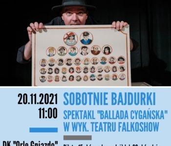 Sobotnie bajdurki: Ballada cygańska w wykonaniu Teatru Falkoshow
