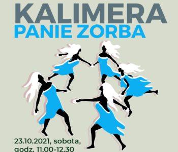 Warsztaty taneczne: Kalimera panie Zorba