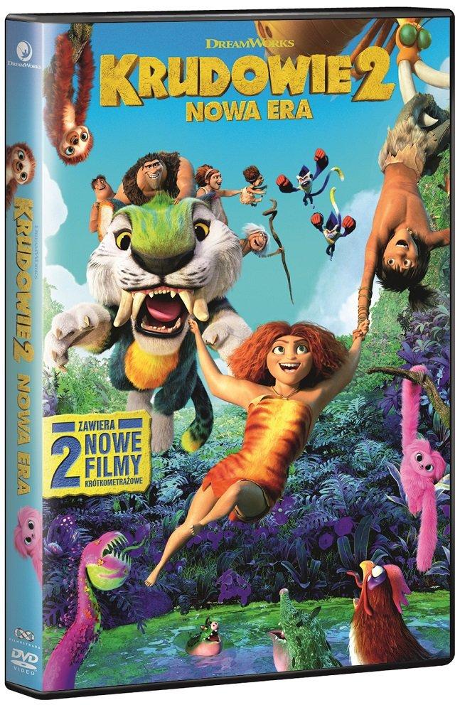 The Croods 2: O nouă eră.  Premiera DVD și Blu-Ray