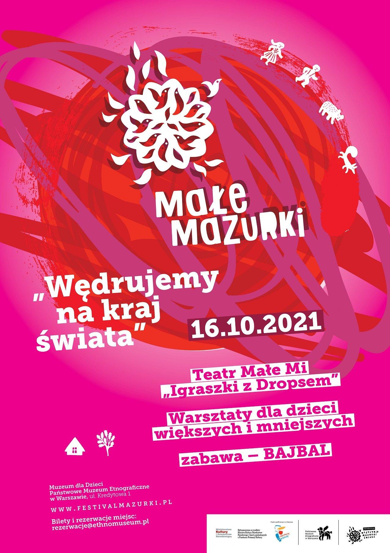 Festiwal rodzinny Małe Mazurki w Państwowym Muzeum Etnograficznym w Warszawie