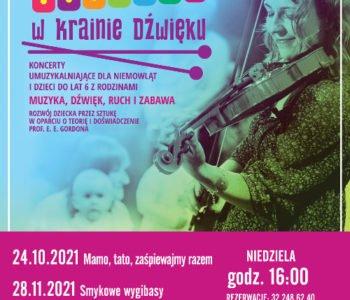 Maluchy w krainie dźwięku – koncerty dla najmłodszych. Ruda Śląska