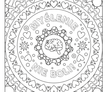 Antystresowe kolorowanki dla doroslych do druku, malowanki na Dzień Nauczyciela