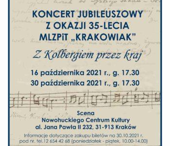 Koncert jubileuszowy z okazji 35-lecia MLZPiT Krakowiak