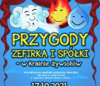 Przygody Zefirka i Spółki – gościnnie na scenie MCK