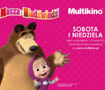 Masza i Niedźwiedź w Multikinie - po raz pierwszy na wielkim ekranie
