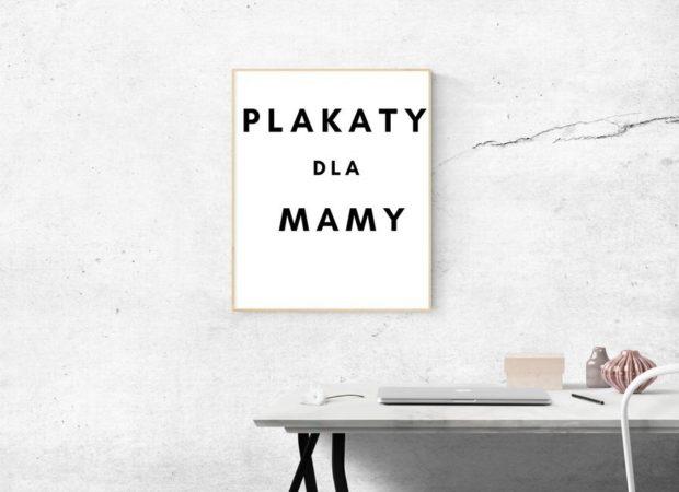 Plakaty na Dzień Matki do pobrania za darmo