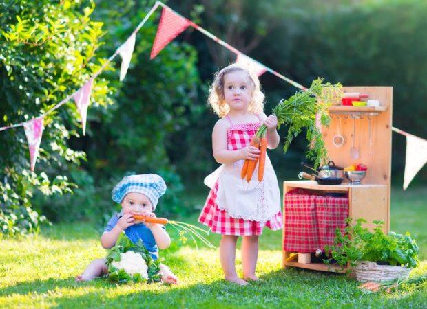 Jak zrobić dla dziecka letnią kuchnię?