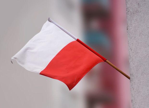 11 listopada z dziećmi, flaga Polski