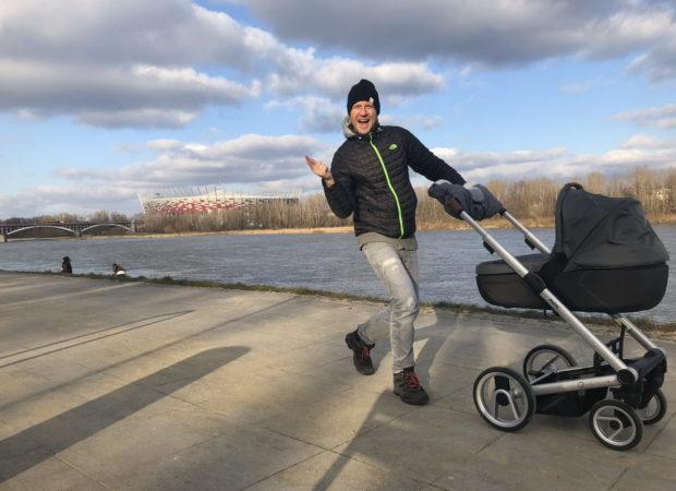 Najlepszy wózek dla dziecka i dla tatusia