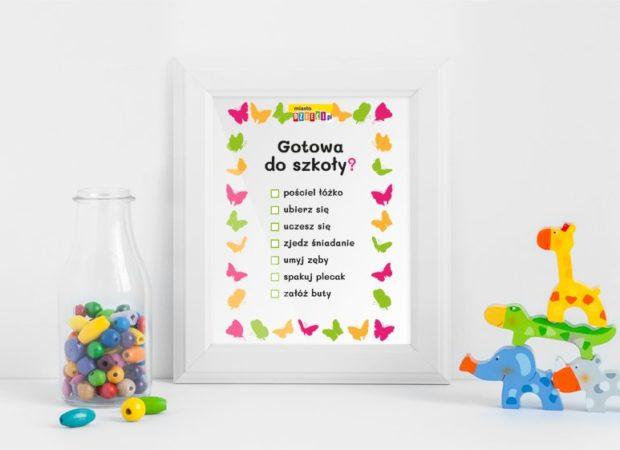 Poranna lista zadań dla dziecka