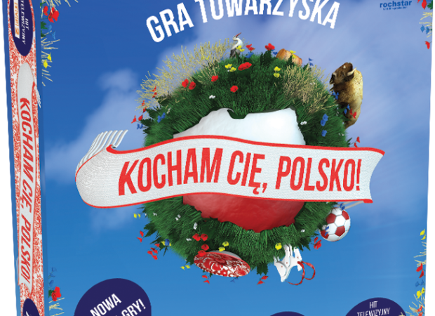 gra planszowa Kocham Cię Polsko!